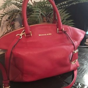 Michael Kors purse Red